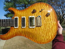 Prs Private Stock Studio Killer Quilt Brazilian Neck  FRONT COVER CALENDAR 2012