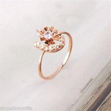 18K Rose Gold Filled CZ Ring (R-165)