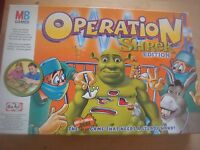 MB Games Shrek Operation Game Spare Playing Pieces Body Parts Cards
