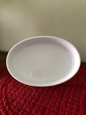 """Emile Henry France - White 8 1/2"""" Oval Stoneware Baking Dish"""