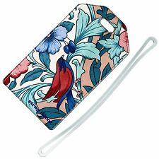 Stray Decor (Old Fabric Floral) Luggage Tag / Travel ID Label