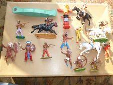 Painted Plastic American Indian 1816-1913 Toy Soldiers
