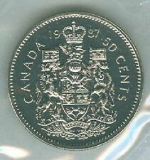 1987-PL Proof-Like Half Dollar 50 Fifty Cent '87 Canada-Canadian BU Coin