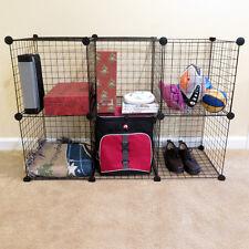 Set of 6 Cube Storage Racks - Multiply Configurations