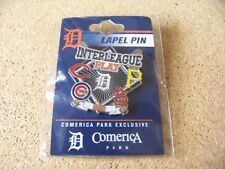 2018 Interleague Play pin Detroit Tigers Pirates Cardinals Cubs Reds lapel MLB