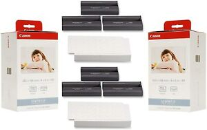 2 PACK Canon KP-108IN Color Ink and Paper Set NEW