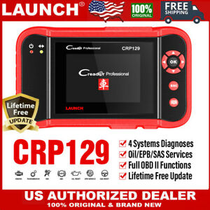 LAUNCH X431 CRP129 OBD II OBD2 Universal Scanner ABS SRS SAS EPB Oil Reset Tool