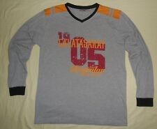 GALATASARAY SK / Official store product - MENS long-sleeved grey Shirt. Size: XL
