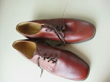DESBOROUGH LEATHER LACE UP SHOES MADE IN ENGLAND UK 7     #10 *