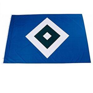 """HSV Hissfahne Flagge """"Schrebergarten""""  120 x 180 cm  Hamburger SV"""