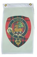 Scottish Clan Maxwell Garden Flag Door Hangar 12 X 18 Inches 2 Grommet One Sided