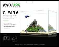Waterbox Clear 6 Rimless Aquarium - 6 Gallon