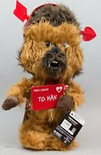 Valentine's Day Disney Star Wars 21 in Tall Chewbacca as Cupid Porch Greeter NWT