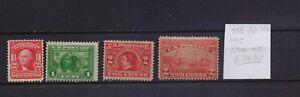 ! United States 1903-1915. Stamp. YT#158,180,181,195. €56.50!
