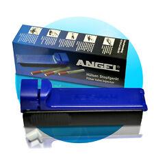 Angel Zigarettenstopfmaschine Stopfmaschine Zigarettenstopfer Stopfer Tabak blau