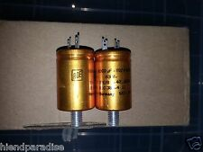 2pcs NOS ROE GOLD EY / B 1000uF 63V AUDIO GRADE LONG LIFE HI_END CAPACITORS !