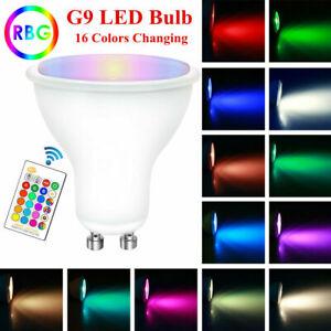 GU10 LED Light Bulb Lamp 10W RGB RGBW 16 Color Changing IR Remote Controller