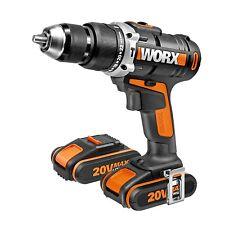 Worx taladro/atornillador percutor batería WX372