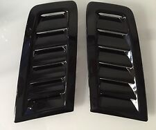 Focus RS MK2 style ABS plastic bonnet vents universal Fit Ford Profile Exact OEM