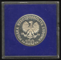 Poland 100 Zlotych 1975. Commemorative SILVER coin, KM# 78. Proof