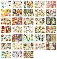 Bumper bargain decoupage kit, scissors needed, 33 sheets, cardmaking, occasions