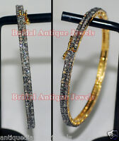 4.80ct ROSE CUT DIAMOND ANTIQUE VICTORIAN LOOK 925 SILVER BRACELET
