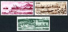 Israel 378-380, MNH. Ports of Elat, Ashdod, Haifa. Ships, 1969