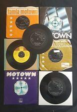"SMOKEY ROBINSON Collection MOTOWN CLOWN/TEARS/TELL ME 7 x 7"" 45 VINYL LOT"