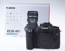 Canon EOS 40D 40 D Gehäuse Body OVP NUR 8000 Klicks Canon-Fachhändler * 2832
