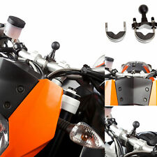 """UA Motorcycle U Bolt Mount Bicycle Accessory Bike Attachment with 1"""" 25mm Ball"""