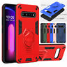 For LG V60 ThinQ 5G Shockproof Hybrid Armor Kickstand Dual Layer Hard Case Cover