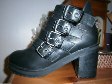 New Look High (3-4.5 in.) Block Heel Boots for Women