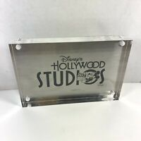 Vintage Disney Hollywood Studios Magnetic Acrylic Picture Photo Frame