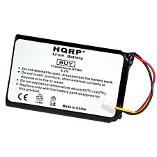 HQRP Battery for Garmin Nuvi AF37AF41EC32T, 36100035-01, 1390, 1390T, 1390LMT