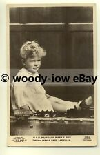 r0144 - Princess Mary's son Gerald Lascelles plays with train set - postcard