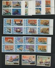 Penryhn 1981 #160-72   ships Tall Ships Bounty Cutty Sark   MNH  M499