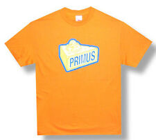 Primus-Cheesehead-Small Orange T-shirt