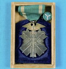 Imperial Japan Russo Japanese War Army Navy Silver Order Golden Kite 7th Class