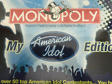 NEW Monopoly American Idol Collector's Edition Parker Brothers 2007 Edition