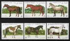SAHARA OCC. RSAD 1995 - SET HORSES MNH