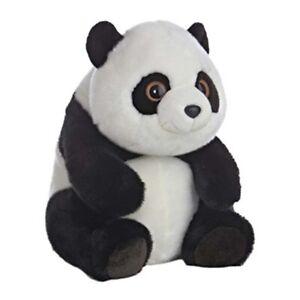 Black and White PandaPlush Lin Lin Large Stuffed Cuddle Animal Figure Toy
