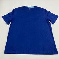 Berkley Jensen T Shirt Men's Size 2XL XXL Short Sleeve Blue Basic Tee Cotton