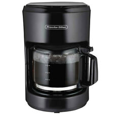 Proctor Silex 10 Cup On/Off Drip Coffee Maker Machine and Pot, Black | 48351