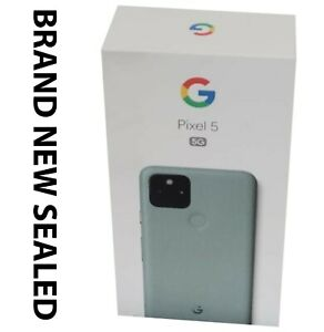 Google Pixel 5 5G GD1YQ - 128GB - Green(Unlocked) BRAND NEW WARRANTY