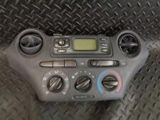 2002 TOYOTA YARIS 1.0 VVTi BENZINA 3DR Riscaldatore Controllo/Orologio/Radio Pannello Di Visualizzazione