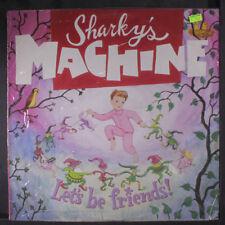 SHARKY'S MACHINE: Let's Be Friends! LP Sealed Rock & Pop