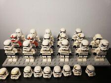 Lego Star Wars Imperial Stormtrooper Lot 17x +10 helmets