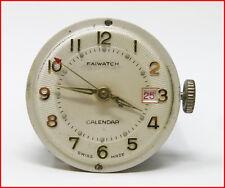 Orologio Faiwatch calendar mechanic clock vintage 30 mm クロック horloge montre