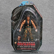 PREDATOR - 25th ANNIVERSARY - FIGURA JUNGLE ENCOUNTER DUTCH FIGURE 18cm