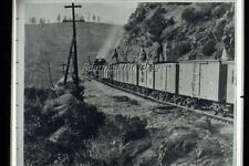 Central Pacific Railroad California Woodburners Vintage DUPE  35mm PHOTO Slide